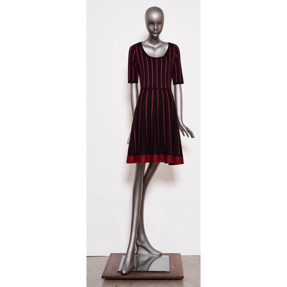 acf747f6b82 Danny   Nicole Dresses   Skirts - Danny and Nicole Polka Dot Sweater Dress